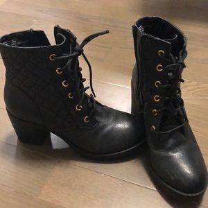 Steve Madden heeled booties